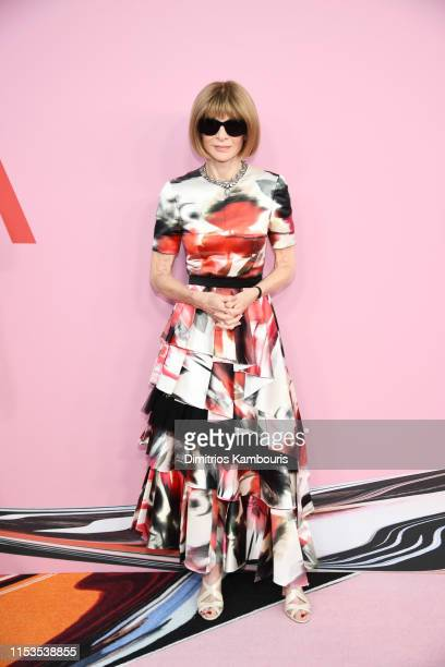 Anna Wintour attends the CFDA Fashion Awards at the Brooklyn Museum of Art on June 03 2019 in New York City