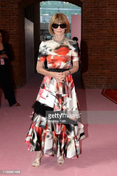 Anna Wintour attends the CFDA Fashion Awards on June 03, 2019 in New York City.