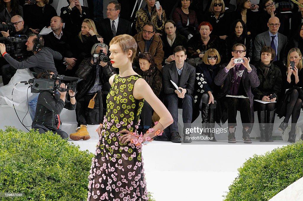 Christian Dior: Runway - Paris Fashion Week Haute-Couture Spring/Summer 2013 : News Photo