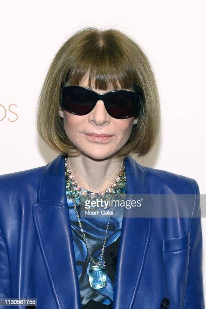Anna Wintour attends the Ellie Awards 2019 at Brooklyn Steel on March 14 2019 in New York City
