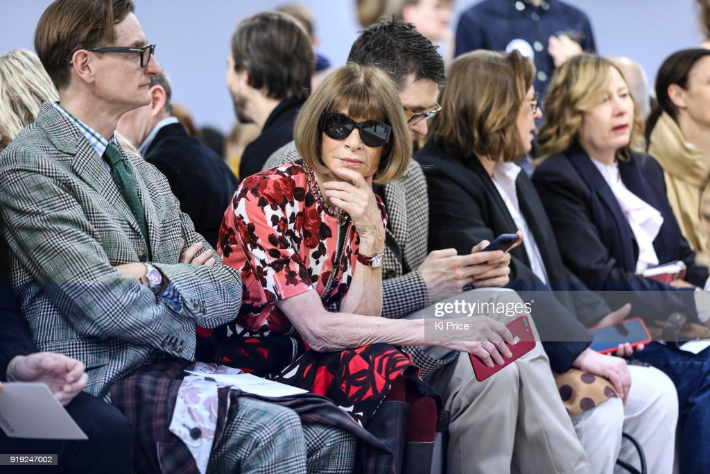 JW Anderson - Front Row - LFW February 2018 : News Photo