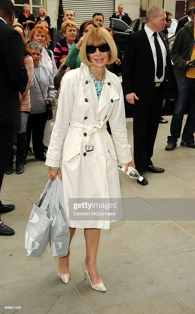 Anna Wintour attends the launch party for the opening of TopShop's Knightsbridge store on May 19, 2010 in London, England.