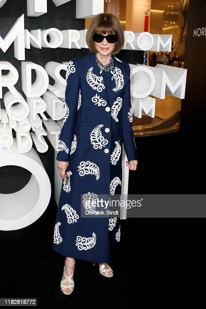 Anna Wintour attends the Nordstrom NYC Flagship Opening Party on on October 22, 2019 in New York City.