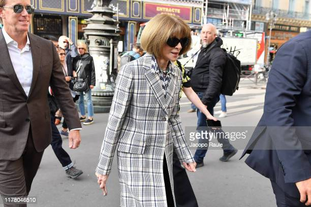 Anna Wintour attends the Stella McCartney Womenswear Spring/Summer 2020 show as part of Paris Fashion Week on September 30, 2019 in Paris, France.