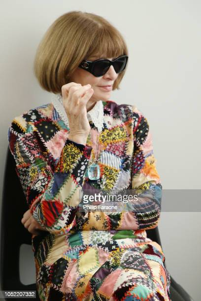 Anna Wintour attends WIRED25 Summit WIRED Celebrates 25th Anniversary With Tech Icons Of The Past Future on October 15 2018 in San Francisco...