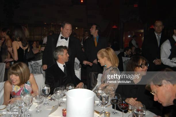 Anna Wintour Baz Luhrmann Harvey Weinstein Nicole Kidman and Ingrid Sischy attend New York Academy of Art and Hermes host the Annual Tribeca Ball at...