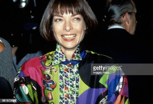 Anna Wintour circa 1990 in New York.