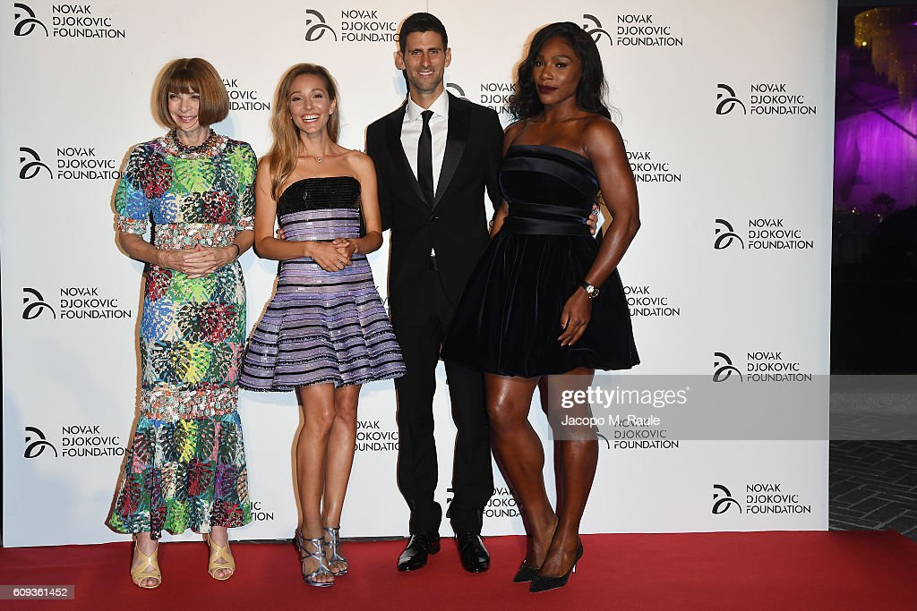 Tennis Meets Fashion At The Milano Gala Dinner Benefitting The Novak Djokovic Foundation Presented By Giorgio Armani : News Photo