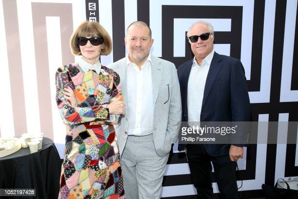 Anna Wintour Jony Ive and Bob Sauerberg attend WIRED25 Summit WIRED Celebrates 25th Anniversary With Tech Icons Of The Past Future on October 15 2018...