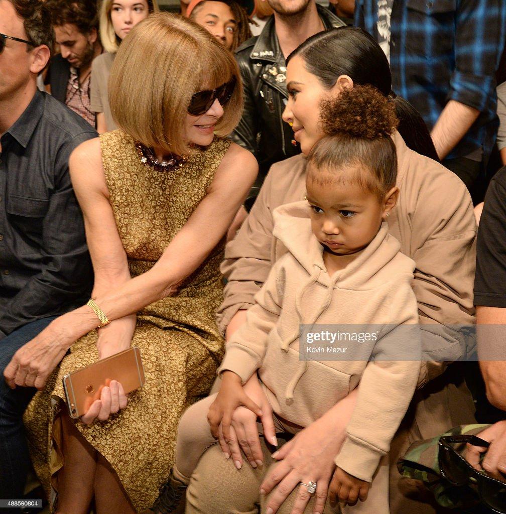 Kanye West Yeezy Season 2 - Front Row : News Photo