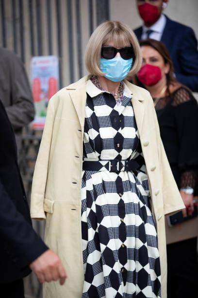 ITA: Street Style - Day 5 - Milan Fashion Week - Spring / Summer 2022
