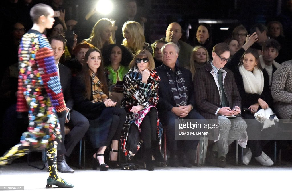 Celeb Sightings And Standout Looks At London Fashion Week