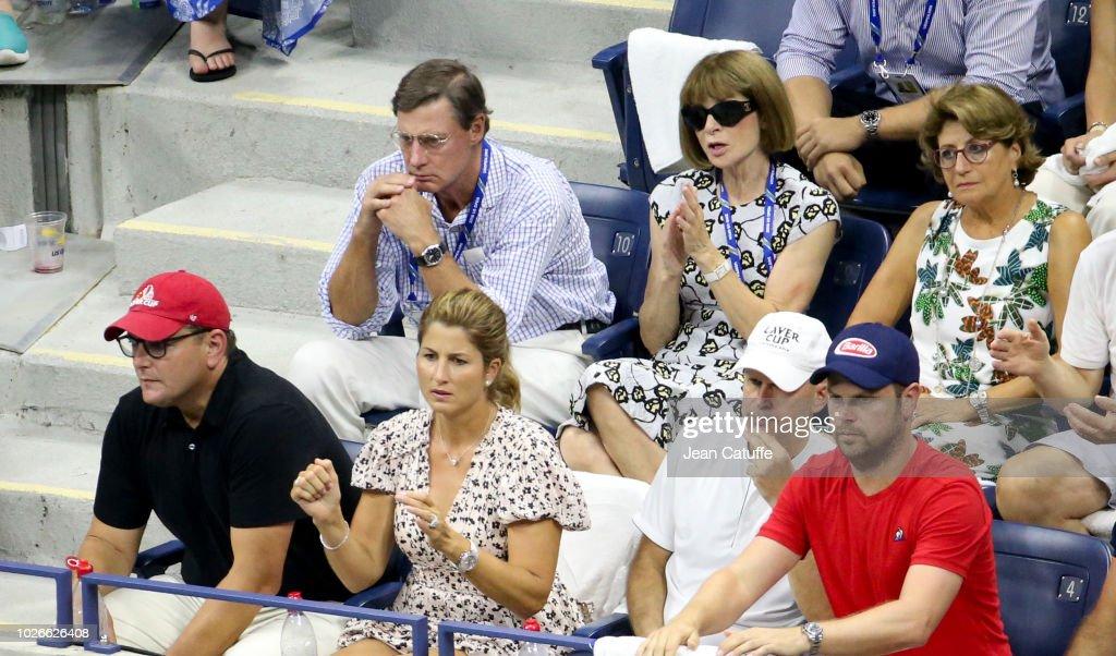 Celebrities Attend The 2018 US Open Tennis Championships - Day 8 : Fotografía de noticias