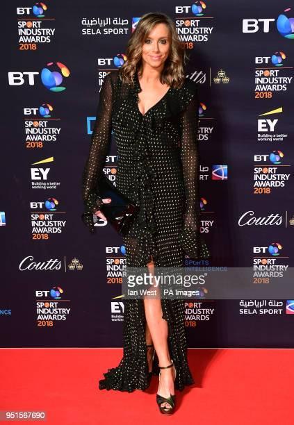 Anna Woolhouse attending the BT Sport Industry Awards 2018 held at Battersea Evolution in Battersea Park London