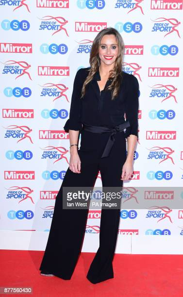 Anna Woolhouse attending the Pride of Sport awards at the Grosvenor House Hotel London