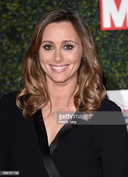 Anna Woolhouse attends the Daily Mirror Pride Of Sport Awards at Grosvenor House on November 25 2015 in London United Kingdom