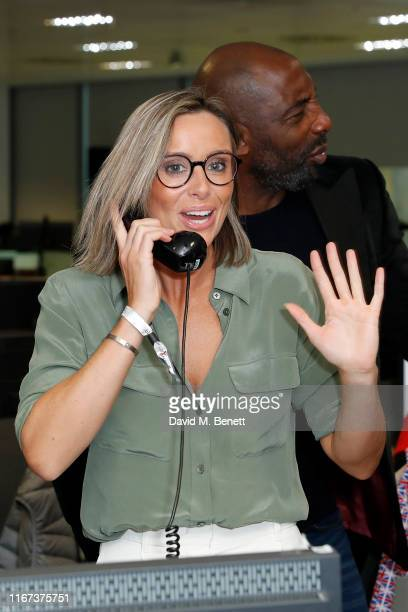 Anna Woolhouse representing Hope And Homes For Children attends BGC Charity Day at One Churchill Place on September 11 2019 in London England