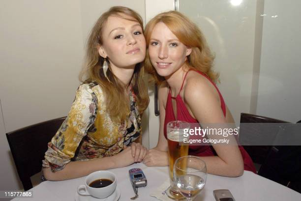 Anna Zege and Mandy Welty during Frederick's Downtown Opening Party October 18 2006 at Frederick's Downtown in New York City New York United States