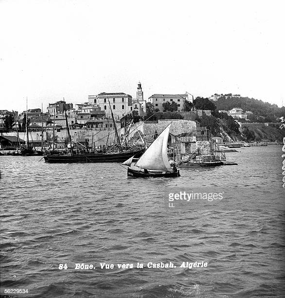 Annaba Seen toward the casbah About 1890 LL19152A STeReO