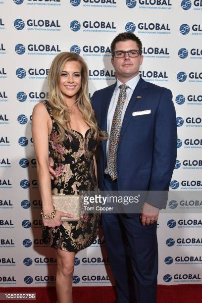 Annabel Bowlen and Charles Mains at the Global Down Syndrome 10th anniversary BBBY fashion show at Sheraton Denver Downtown Hotel on October 20 2018...