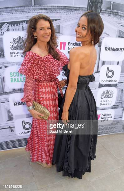 Annabel Croft and Emma Thynn Viscountess Weymouth attend the inaugural British Ballet Charity Gala presented by Dame Darcey Bussell at The Royal...