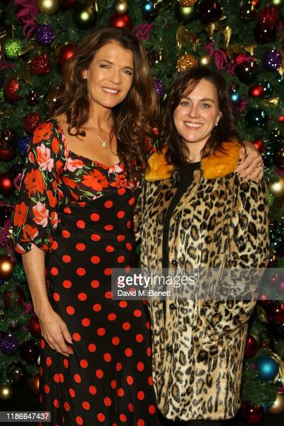 Annabel Croft and Jilly Halfpenny attend the Rainbow Trust Carol Concert at St Paul's Church on December 5 2019 in London England