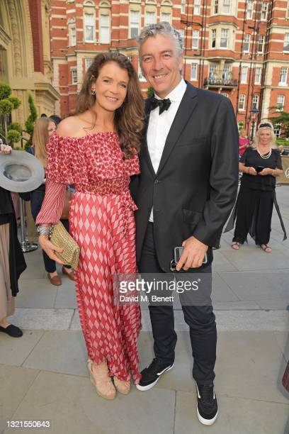 Annabel Croft and Mel Coleman attend the inaugural British Ballet Charity Gala presented by Dame Darcey Bussell at The Royal Albert Hall on June 03,...