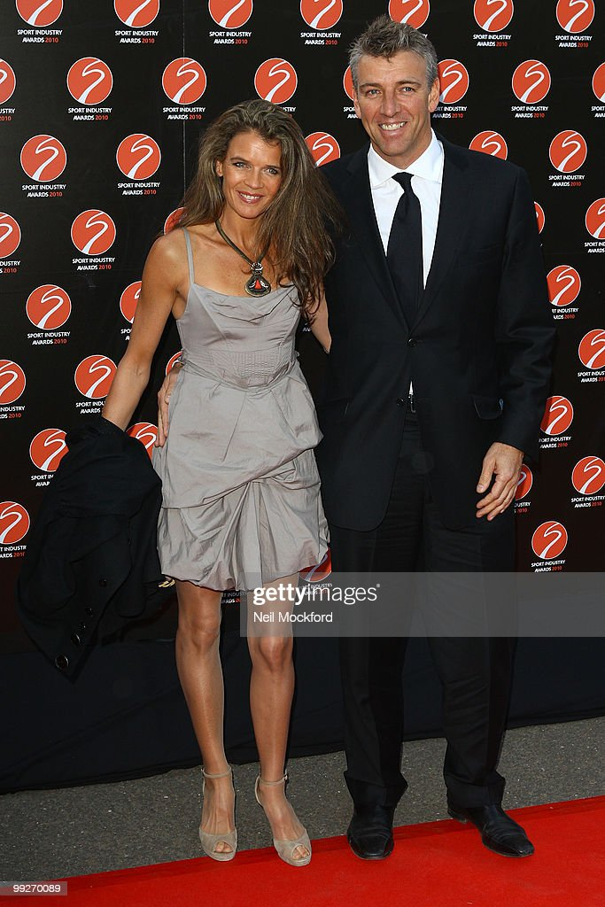 Annabel Croft and Mel Coleman attends the Sport Industry Awards at Battersea Evolution on May 13, 2010 in London, England.