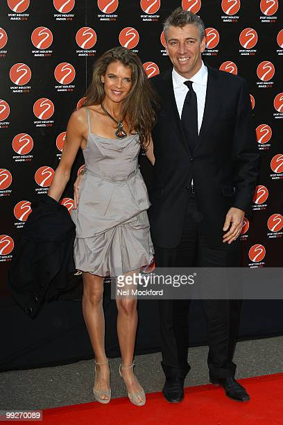 Annabel Croft and Mel Coleman attends the Sport Industry Awards at Battersea Evolution on May 13 2010 in London England