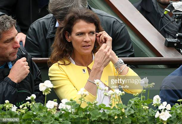 Annabel Croft attends day 11 of the 2016 French Open held at RolandGarros stadium on June 1 2016 in Paris France