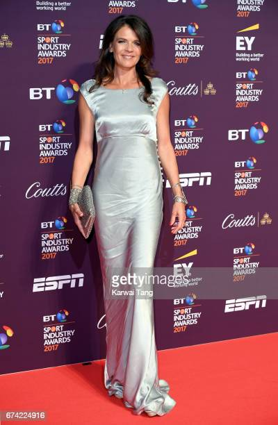 Annabel Croft attends the BT Sport Industry Awards at Battersea Evolution on April 27 2017 in London England