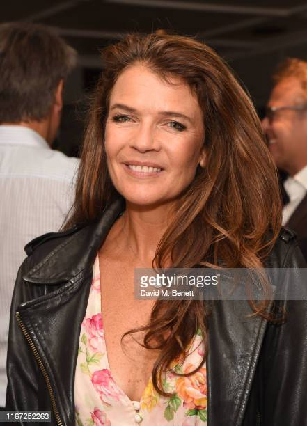 """Annabel Croft attends the launch of new book """"Global Planet Authority"""" by Angus Forbes at The Groucho Club on September 10, 2019 in London, England."""