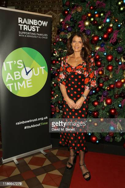 Annabel Croft attends the Rainbow Trust Carol Concert at St Paul's Church on December 5, 2019 in London, England.