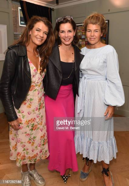 """Annabel Croft, Darcey Bussell and Amber Nuttall attends the launch of new book """"Global Planet Authority"""" by Angus Forbes at The Groucho Club on..."""