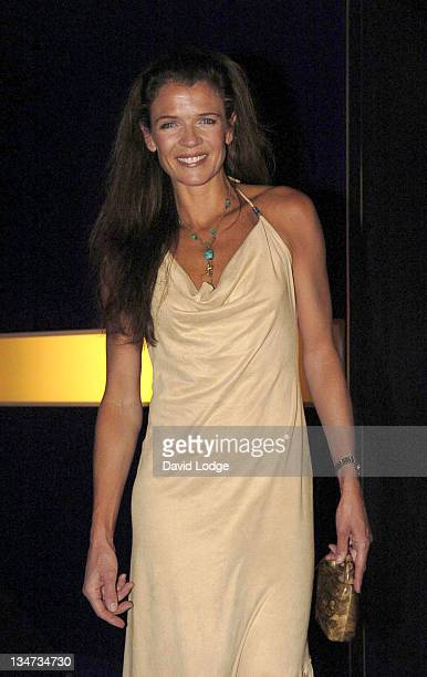 Annabel Croft during Hell's Kitchen II Day 3 Arrivals at 146 Brick Lane in London Great Britain