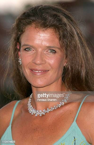 Annabel Croft during Hopes and Homes For Children Photocall at Queens Club in London Great Britain