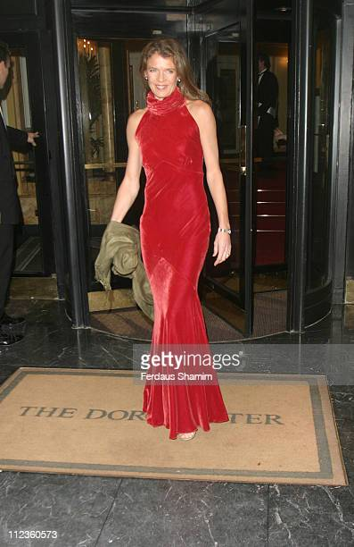 Annabel Croft during The Rainbow Ball at The Dorchester Hotel in London Great Britain