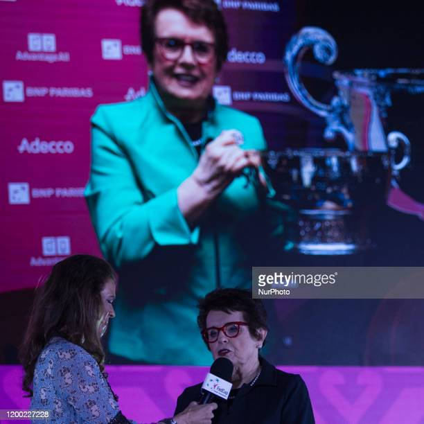 Annabel Croft made an interview with Billie Jean King who is the global ambassador of the Fed Cup event and 39 times Grand Slam winner during the...