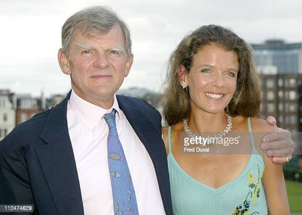 Annabel Croft with De Beers' MD Gary Ralfe who is also her tennis partner at the Queen's Tennis Club in Kensington London The former number one...