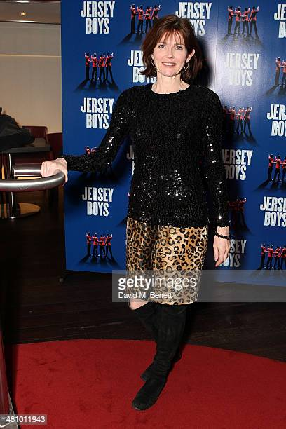 Annabel Giles attends an after party following the Gala Night performance of 'Jersey Boys' celebrating a new venue at the Piccadilly Theatre a new...