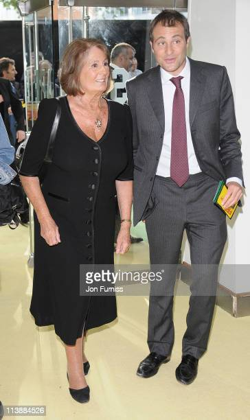 Annabel Goldsmith and Ben Goldsmith attend the European premiere of 'Fire in Babylon' at Odeon Leicester Square on May 9 2011 in London England