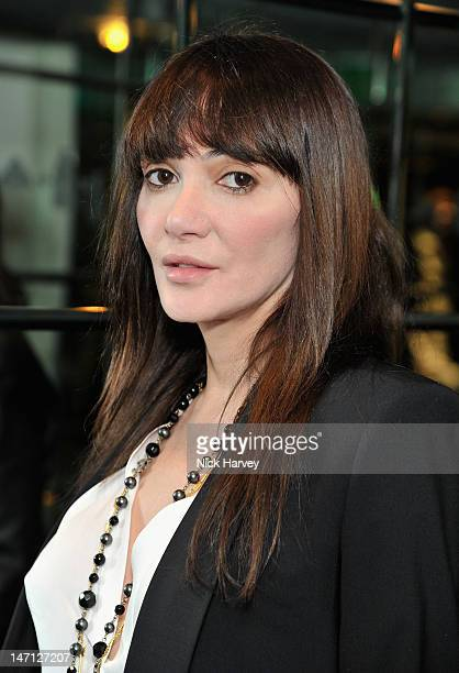 Annabel Nielsen attends the launch of Jax Coco coconut water at Harvey Nichols on June 25 2012 in London England