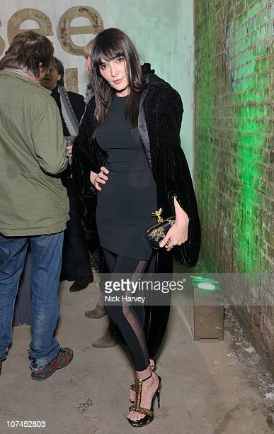 Annabel Nielsen attends the launch of Stephen Webster's jewellery collections 'The 7 Deadly Sins' and 'No Regrets' at Old Vic Tunnels on December 8...