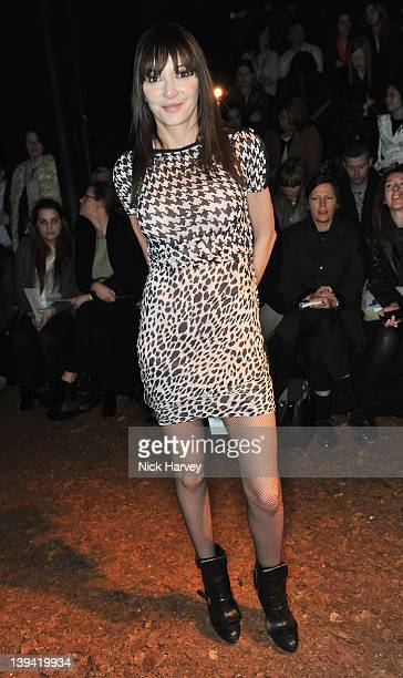 Annabel Nielsen seen at the McQ Alexander Mcqueen Autumn/Winter 2012 show at Old Sorting Office on February 20 2012 in London England