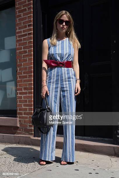 Annabel Rosendahl is seen attending Tibi during New York Fashion Week on September 10 2016 in New York City