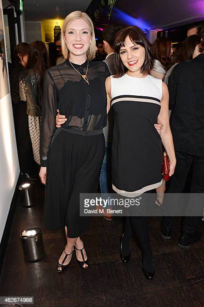 Annabel Scholey and Robyn Addison attends the InStyle and EE Rising Star Party in association with Lancome Karen Millen and Sky Living at The Ace...