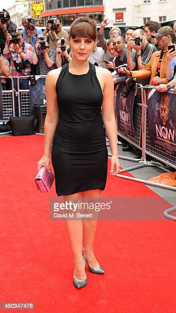 Annabel Scholey attends the UK Premiere of Now at Empire Leicester Square on June 9 2014 in London England