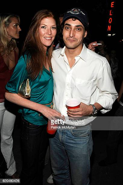 Annabel Vartanian and Adam Shugar attend HANLEY Flagship Store Launch at HANLEY on June 3 2008 in New York City