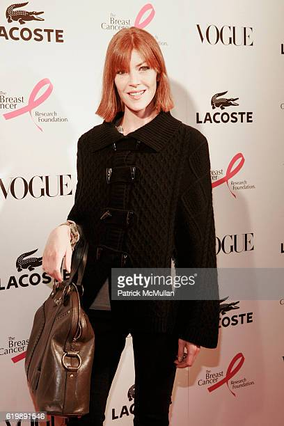 17993d870eb87c Annabel Vartanian attends LACOSTE VOGUE Event to Celebrate Breast Cancer  Awareness Month at LACOSTE Fifth Avenue