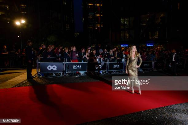 Annabel Wallis attends the GQ Men Of The Year Awards at Tate Modern on September 5 2017 in London England